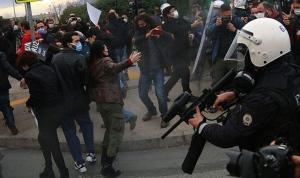 İzmit'te Boğaziçi eylemine polis müdahalesi: Gözaltılar var