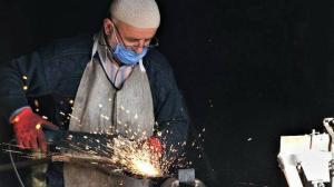 Karabük Haberleri: 225 yıllık Demirciler Çarşısı'nda son dört usta kaldı