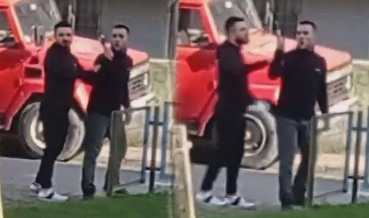 Kısıtlamada parkta gürültü yapanlara silahlı tehdit