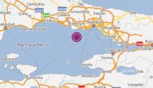 Marmara Denizi'nde 2,7 büyüklüğünde deprem