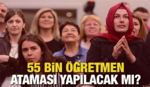 Öğretmen atama takvimi ne zaman açıklanacak? MEB yeni yılda 55 bin öğretmen alımı için…