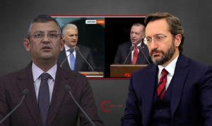 """Özgür Özel, Erdoğan ve Binali Yıldırım'ın 'ortak konuşması'nda Fahrettin Altun'a dikkat çekti: """"3 farklı maaş almayı biliyor, 2 farklı konuşma yazmaktan aciz"""""""
