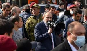 Paşinyan'dan Cumhurbaşkanı Sarkisyan'a tepki