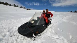 Sağlık ordusunun Kars'taki kar motorlu melekleri kurtarma görevlerine hazır