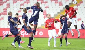 Sivas-Antalya maçında gol geldi