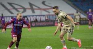 Süper Lig'in 27. haftasında Fenerbahçe, deplasmanda Trabzonspor'u 1-0 yendi