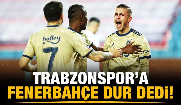 Trabzonspor'a Fenerbahçe dur dedi!
