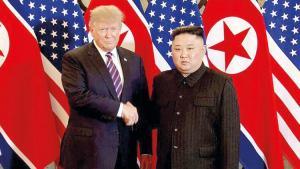 Trump'tan Kim'e farklı teklif: Uçağımla seni Kore'ye bırakayım