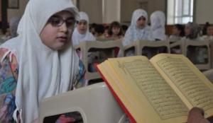 Türkiye Diyanet Vakfı, Barış Pınarı bölgesindeki çocuklara Kur'an eğitimi veriyor
