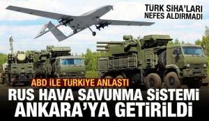 Türkiye ile ABD, ele geçirilen Rus hava savunma sistemini Ankara'ya getirdi