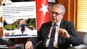 'Türkiye'de olsaydı 10 km yürümek zorunda kalmazdı'