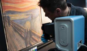 Ünlü Çığlık tablosundaki 'deli' yazısını ressam Edvard Munch'un yazdığı belirlendi