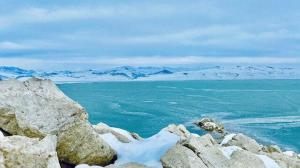 Yazıcı Barajı buz tuttu: Fotoğraf tutkunlarının ilgi odağı oldu