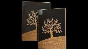 1.4 milyon liralık iPad:  Üstünde bir kilo altın var