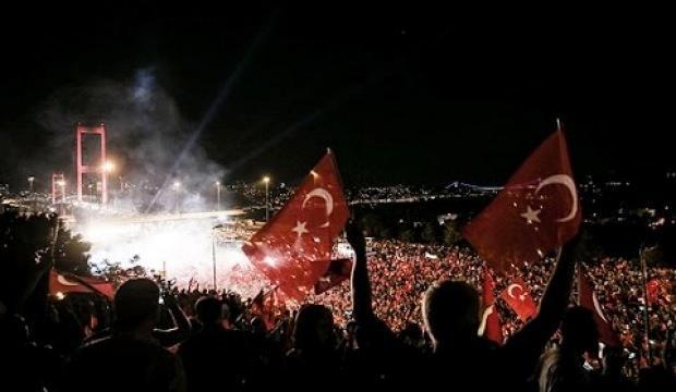 """15 Temmuz Anma Programlarına """"Türkiye Geçilmez"""" teması"""
