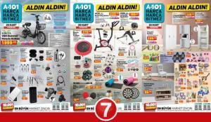25 Mart A101 Aktüel Kataloğu! Züccaciye, spor aletleri, giyim, elektronik ve kamp ürünlerinde..