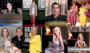 78. Altın Küre Ödülleri sahiplerini buldu, işte o anlar