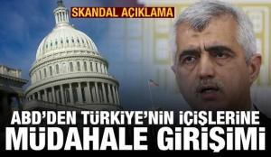 ABD Dışişlerinden HDP ve Gergerlioğlu açıklaması, Türkiye'den tepki