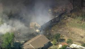 ABD'de havai fişek dolu bir evde patlama meydana geldi