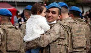 Afrin kahramanları yurda dönüş yaptı