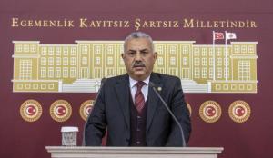 """AK Parti'li Şanverdi: """"Ambargolar kalksın, Filistin halkına yapılan zulüm bitsin"""""""