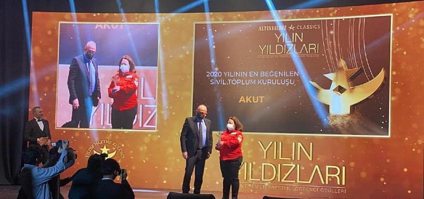 AKUT 25. Yılı'nın ilk ödülünü aldı