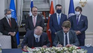Ankara Üniversitesi ile BM Barış Üniversitesi arasında deniz hukuku alanında imzalar atıldı