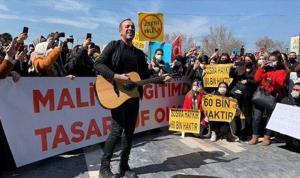 Atama isteyen öğretmenler Ankara'dan seslendi