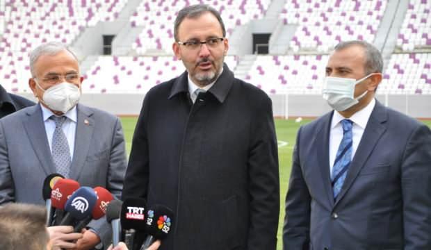 """Bakan Kasapoğlu açıkladı! """"Bu stat bir ilk olacak"""""""