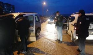 Bursa polisinden 'Kısıtlamada huzur' uygulaması: 15 kişiye 26 bin lira ceza