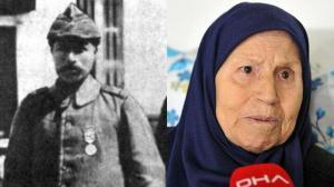 Çanakkale Savaşı'nın kahramanı Müstecip Onbaşı'nın kızı: Babam emir beklememiş, denizaltıyı 3. atışta vurmuş