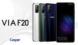 Casper'ın ilk yerli telefonu VIA F20 satışa çıktı