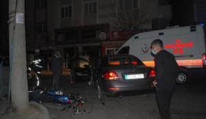 Çorlu'da trafik kazası: 2 yaralı