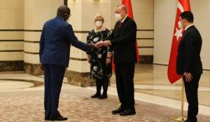 Cumhurbaşkanı Erdoğan, Senegal Büyükelçisini kabul etti
