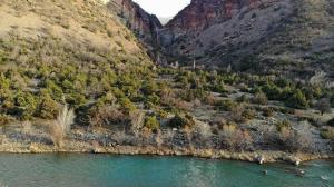 Dağların arasındaki saklı cennet görenleri hayran bırakıyor