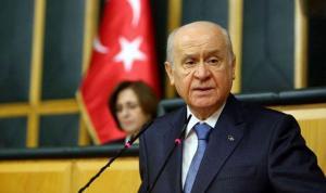 Devlet Bahçeli'den erken seçim açıklaması