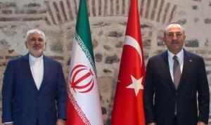 Dışişleri Bakanı Mevlüt Çavuşoğlu ve İranlı mevkidaşı Cevad Zarif İstanbul'da görüştü