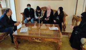 Dr. Afiye Sıddıki'nin kız kardeşi ve oğlu İstanbul'a geldi