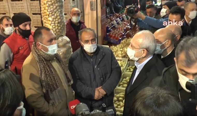 Esnaf Kılıçdaroğlu'na dert yandı: Bin lirayı pazar harçlığı diye vermişler
