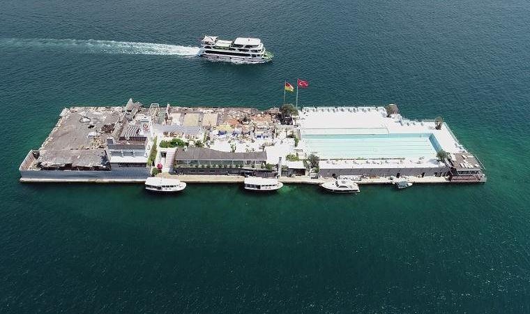 Galatasaray Adası'nda son dakika gelişmesi