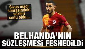 Galatasaray, Belhanda ile yollarını ayırdı