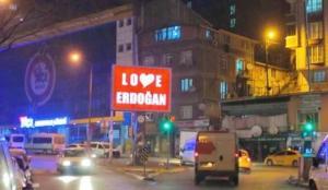 Gaziosmanpaşa Belediyesi'nden 'Stop Erdoğan'a yanıt: 'Love Erdoğan'