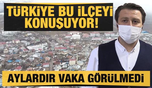 İki aydır Türkiye'de koronavirüs vakasının görülmediği tek ilçe