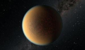 İkinci atmosferini kazanan uzak gezegen