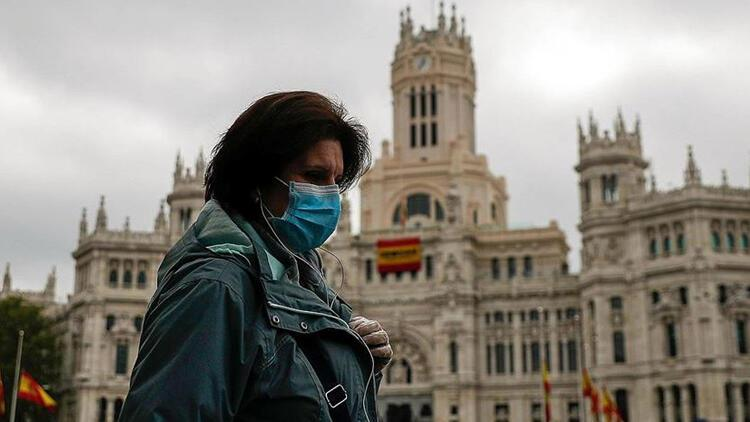İspanya'da koronavirüs'ten ötürü son 24 saatte 173 kişi hayatını kaybetti