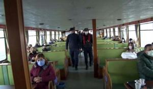 İstanbul'da denizde koronavirüs denetimi!