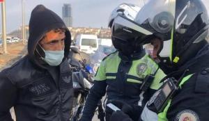 İstanbul'da karayollarında seyyar satıcılık yapan 125 kişiye ceza kesildi