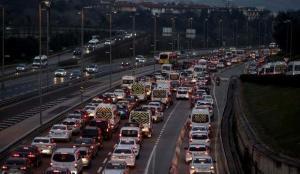 İstanbul'da trafikte sabah yoğunluğu!