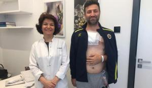 İzmir'de bir adam yağ bezesi sandığı kitle için hastaneye gitti, doku kanseri olduğunu öğrendi!