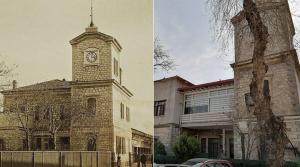 İzmir'in İlk Saat Kulesinin Bulunduğu Binaya Yaptırılan Kaçak PVC Söküldü